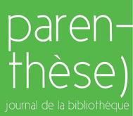 Journal de la médiathèque